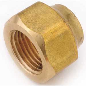 Anderson Metals 04019-10 5/8 in. Brass Flare Nut Forged Heavy - pack of 10