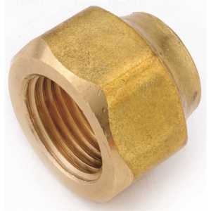 Anderson Metals 04019-08 1/2 in. Brass Flare Nut Forged Heavy - pack of 10