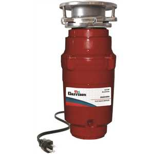 Garrison 10-US-GR94-3B 1/2 HP Economy Continuous Feed Garbage Disposal with Power Cord