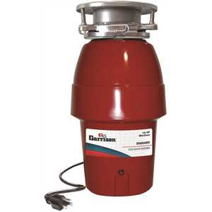 Garrison GX 10-US-GR95-3B 1/2 HP Mid Duty Continuous Feed Garbage Disposal with Power Cord