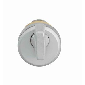"""Adams Rite 4066-01 628 Thumbturn Cylinder with 1/4"""" Ring for MS Lock, 4900, and 2190 Satin Aluminum Finish"""
