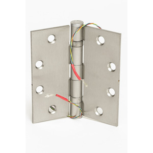 Command Access Technologies ETH4W4540 652 5SW Electrified Hinge Satin Chromium Plated
