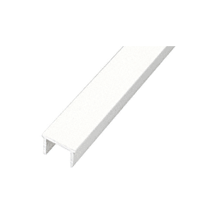 "CRL PF194W Sky White 241"" Glass Barrier Post Filler"