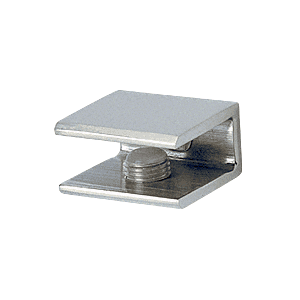 CRL FA10CH Polished Chrome Small Square Interior Shelf Clamp
