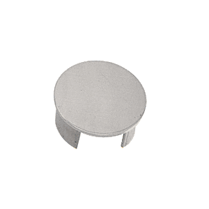 "CRL GR25ECBS Brushed Stainless End Cap for 2-1/2"" Cap Railing"