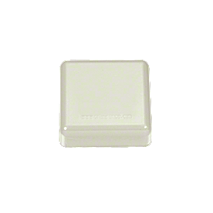 CRL PC10W Oyster White 100 Series Post Cap