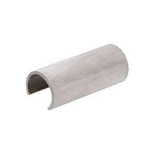 "CRL GR19CSM Aluminum 1.9"" Connector Sleeve for Cap Railing, Cap Rail Corner, and Hand Railing"