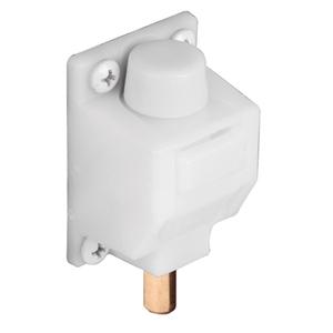 CRL S4708 White Foot Operated Door Lock