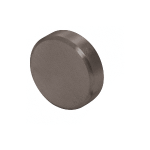 347 Series Aluminum Flat Dark Bronze Anodized End Caps for Wood Cap Railings