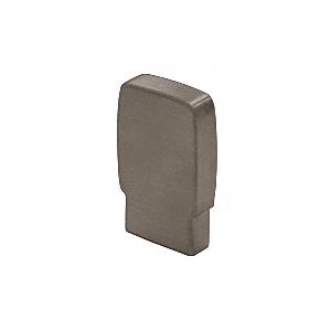 397 Series Aluminum Flat Dark Bronze Anodized End Caps for Wood Cap Railings