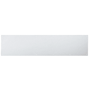 """6"""" x 34"""" Clear Anodized Kick Plate"""