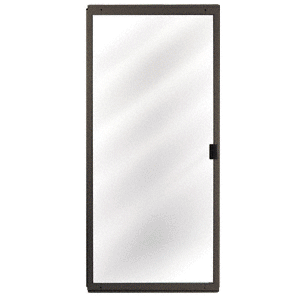 "Bronze Columbia CM Architectural 36"" x 80"" Sliding Screen Door"
