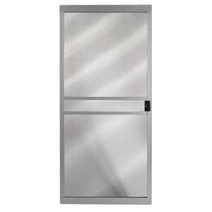 """CRL 1021081504 Columbia Gray 48"""" x 80"""" CM Supreme Sliding Screen Door"""