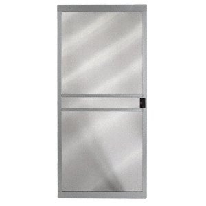 "CRL 10210815 Columbia Gray 48"" x 80"" CM Supreme Sliding Screen Door - Bulk"