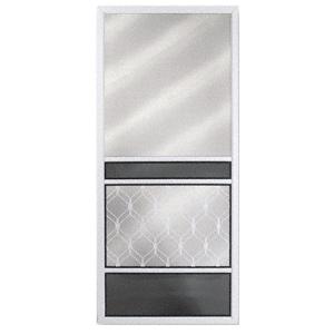 """RF Regal View White 36"""" x 80"""" Steel Screen Door"""