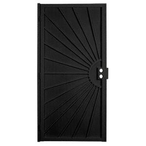 """Columbia 25163212 Sunset Black 36"""" x 80"""" Security Door"""