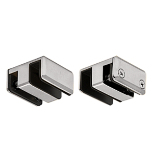 Brushed Nickel Top Guide for Essence Series Sliding Door Kit