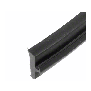 "Black 9/32"" EPDM Curtainwall Exterior Gasket - 500'"