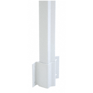 CRL FB5W Sky White Inside 135 Degree Fascia Mounted Bracket