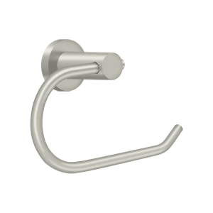 Deltana BBN2001-15 Nobe Series C Shaped Toilet Paper Holder Without Cover Plate Satin Nickel