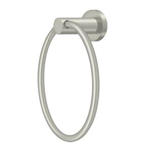 "Deltana BBN2008-15 6"" Diameter Nobe Series Towel Ring Satin Nickel"