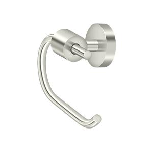 "Deltana BBS2001-14 Sobe Series ""C"" Shaped Swinging Toilet Paper Holder Single Post Polished Nickel"