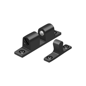"""Deltana BTC20U10B 2-1/4"""" Base Length Accessory Double Ball Tension Catch Oil Rubbed Bronze"""