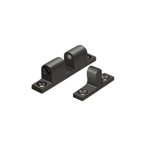 """Deltana BTC10U10B 1-7/8"""" Base Length Accessory Double Ball Tension Catch Oil Rubbed Bronze"""