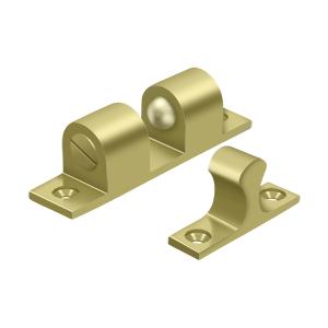 "Deltana BTC30U3 3"" Base Length Accessory Double Ball Tension Catch Polished Brass"
