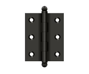 10 PAIRS 2.0 INCH 20x 50mm SELF COLOUR STEEL BUTT HINGES DOOR CABINET HINGE