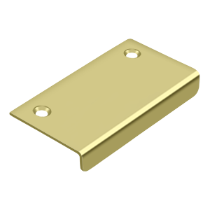 "Deltana DCM315U3 2-1/4"" Center To Center Drawer/Cabinet Mirror Pull Polished Brass"