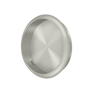 """Deltana FP221RU15 1/4"""" Depth Round Flush Door Pull Satin Nickel"""