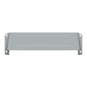 Deltana MSH158U26D Letter Box Guard & Security Hood Satin Chrome
