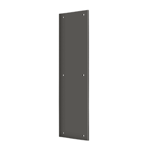 "Deltana PP3515U10B 15"" Height X 3-1/2"" Width Door Rectangular Push Plate Without Framed Oil Rubbed Bronze"