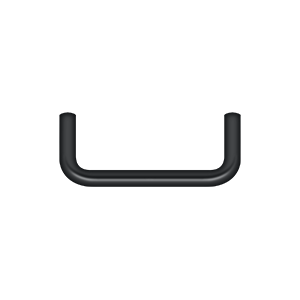 Deltana PW300U19-XCP10 Deltana Wire Pull Paint Black - pack of 10