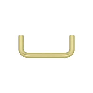 Deltana PW300U3-XCP10 Deltana Wire Pull Polished Brass - pack of 10