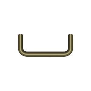 Deltana PW300U5-XCP10 Deltana Wire Pull Antique Brass - pack of 10