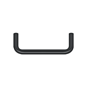 Deltana PW350U19-XCP10 Deltana Wire Pull Paint Black - pack of 10