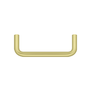 Deltana PW350U3-XCP10 Deltana Wire Pull Polished Brass - pack of 10