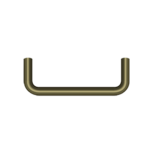 Deltana PW350U5-XCP10 Deltana Wire Pull Antique Brass - pack of 10