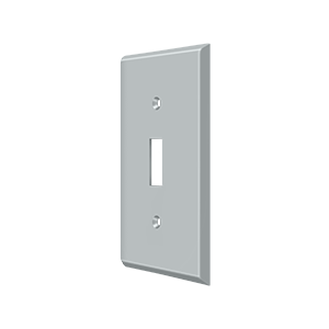 Deltana SWP4751U26D Switch Plate Cover 1 Toggle Satin Chrome