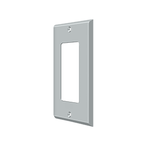 Deltana SWP4754U26D Switch Plate Cover 1 Rocker Brushed Chrome
