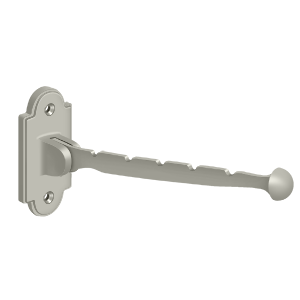 "Deltana VH65U15 7"" Projection Contemporary Valet Hook Satin Nickel"