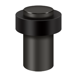 "Deltana UFB7500U10B 3"" Height Heavy Duty Tall Round Universal Floor Bumper Oil Rubbed Bronze"