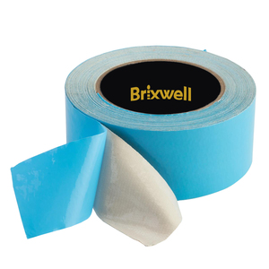 Brixwell DKH100005 Blue Double Coated Carpet Tape 2 Inch x 12 Yard Made in the USA