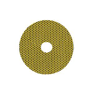 """4"""" 400X Grit QRS Mount Flexible Diamond Disc"""