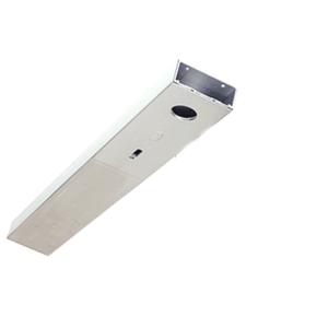 "Polished Stainless Custom Length 4-1/2"" Single Door Header"