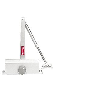 CRL DC51A Aluminum ANSI Grade 1 Size 1 Light Duty Surface Mount Door Closer