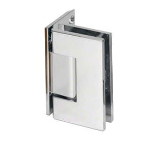 CRL GEN544CH Polished Chrome Geneva 544 Series Wall Mount Offset Back Plate Hinge