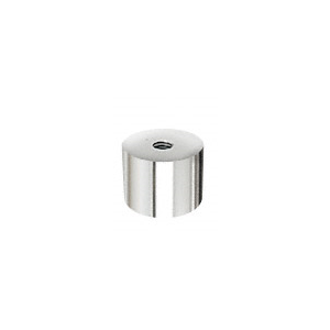 "316 Polished Stainless Standoff Base 1-1/2"" Diameter by 3/4"" Long"